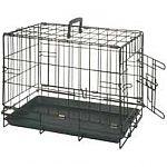 Cage Pliante Une Porte Black Serie