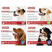 FIPROTEC pipettes antiparasitaire pour chien