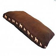 COUSSIN RECTANGLE CHOCOLAT