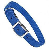 COLLIER NYLON BLEU