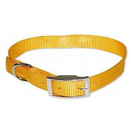 COLLIER NYLON JAUNE