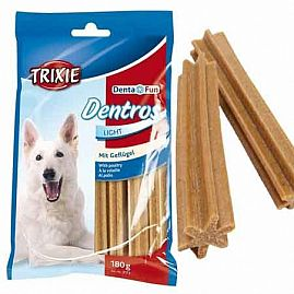 DANDROS LIGHT VOLAILLE 180 GR au rayon Chiens, Friandises - Snacks