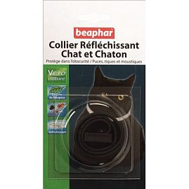 COLLIER INSECTIFUGE CHAT VETONATURE REFLECHISSANT au rayon Chats, Cosmétique - Soins & Antiparasitaire