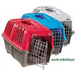 CAGE TRANSPORT PLASTIQUE PM au rayon Chiens, Transport - Cages