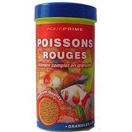 Granules poisson rouge aquaprime poissons nourriture for Nourriture poisson rouge composition