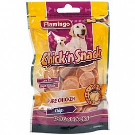 Chick'n chips 85gr au rayon Chiens, Friandises - Snacks