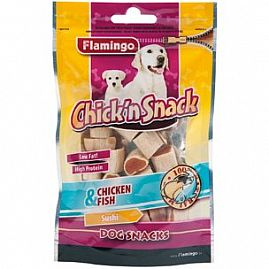 CHICK'N SNACK SUSHI 85g au rayon Chiens, Friandises - Snacks