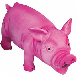 COCHON EN LATEX ROSE au rayon Chiens, Jouets - Latex