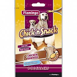 CHICK'N SNACK KNOTTED BONE 85g au rayon Chiens, Friandises - Snacks