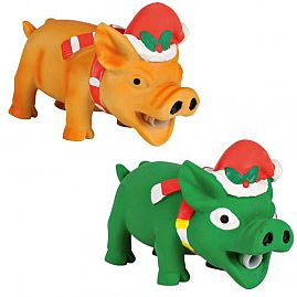 ANIMAL COCHON 15cm au rayon Chiens, Jouets - Latex