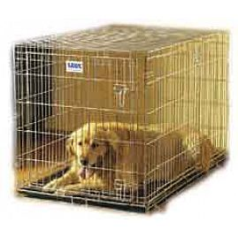 Cages DOG RESIDENCE deux portes  au rayon Chiens, Transport - Cages Pliantes