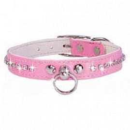 COLLIER SYNTHETIQUE et STRASS au rayon Chiens, Sellerie - Strass