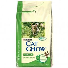 Purina Cat Chow Adult Lapin Foie au rayon Chats, Alimentation - Adulte