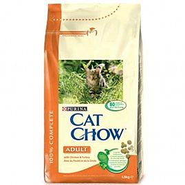 Purina Cat Chow Adult Poulet Dinde au rayon Chats, Alimentation - Adulte