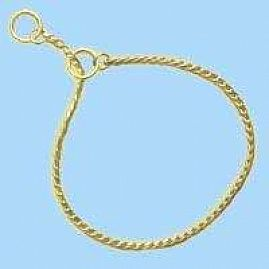 COLLIERS RING 5 GOLD 4mm  au rayon Chiens, Sellerie - Colliers Chaine Expo